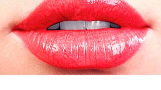 Preenchimento labial com ácido hialurônico antes e depois